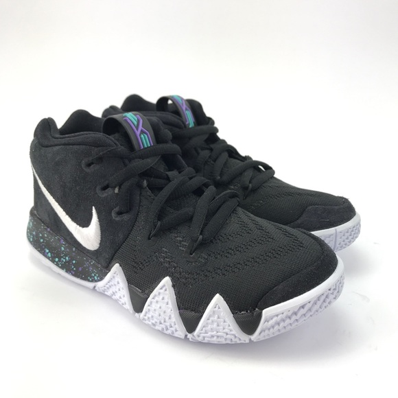 best authentic 3542e a8980 Nike Youth Kyrie 4 Black Basketball Shoes Sz 11 C NWT